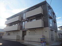 大阪府高槻市東五百住町3丁目の賃貸アパートの外観