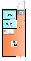 ルンルンパート3[2階]の間取り