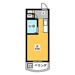 柴田山田ビル[2階]の間取り