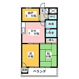 第3宮崎ビル[1階]の間取り