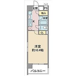 レージュAsano[5階]の間取り