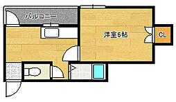 ウィル鷹合3階Fの間取り画像