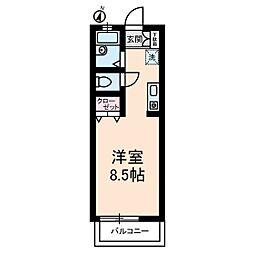 エシャンテ千歳台[1階]の間取り