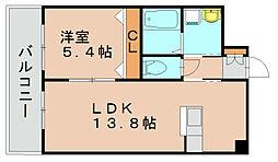 スタンドリバー松島II[7階]の間取り