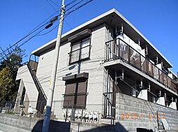 東京都板橋区常盤台2丁目の賃貸アパートの外観