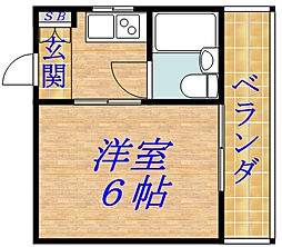 ローレルハイツ2番館[2階]の間取り