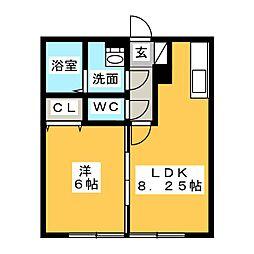 HIROビレッジ[2階]の間取り