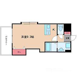 ラグゼ新大阪IV[8階]の間取り