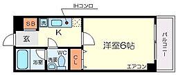 アトライズ片山[7階]の間取り