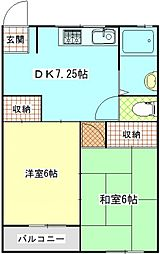 久里浜SKビル[303号室]の間取り