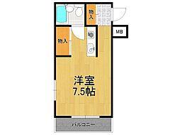 レッドサン・イケヤ3[2階]の間取り