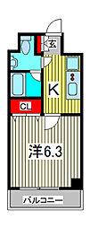 SS.Advance西川口[2階]の間取り