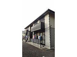 静岡県沼津市東熊堂の賃貸アパートの外観