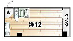 グローカルビル[8階]の間取り