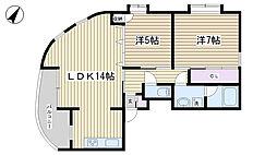 SKハウス[2F号室]の間取り