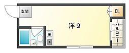 早苗清州プラザ[3階]の間取り