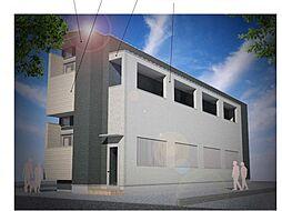 仮称)ハーモニーテラス大阪市旭区大宮四丁目・SKHコーポB号[1階]の外観