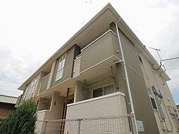 福岡県宗像市光岡の賃貸アパートの外観
