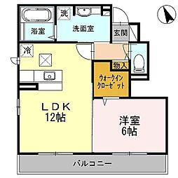 ムーンライトコート[2階]の間取り