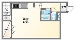 EPO南堀江ビル[6階]の間取り