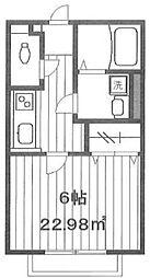 Cozy[2階]の間取り