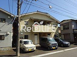 東京都国分寺市光町の賃貸アパートの外観