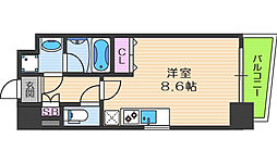 S-RESIDENCE福島Luxe[3階]の間取り