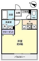 Regaro I[3階]の間取り