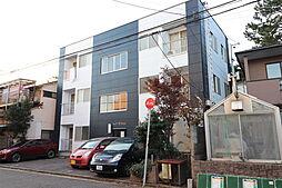 新潟県新潟市中央区二葉町2丁目の賃貸アパートの外観