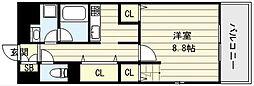 ルシェロノルテ[1階]の間取り