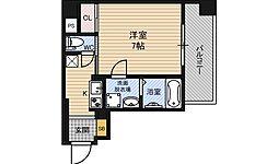 エイペックス新大阪[8階]の間取り