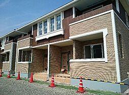 広島県福山市御幸町大字下岩成の賃貸アパートの外観