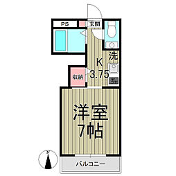 コーラルK[2階]の間取り