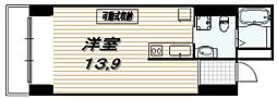 レジデンシャル四条蟷螂山[10階]の間取り