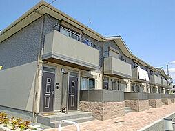 滋賀県栗東市目川の賃貸アパートの外観