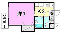 プチ・シャトレ[304 号室号室]の間取り