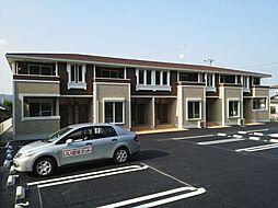 群馬県高崎市吉井町小串の賃貸アパートの外観