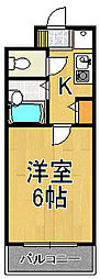 キングガーデン[3階]の間取り
