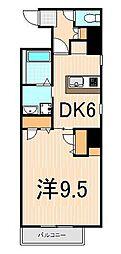 レオーネ三ノ輪[4階]の間取り