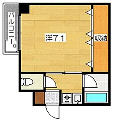 TAISEI都[5階]の間取り