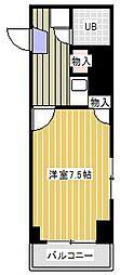 西馬橋マンション[5階]の間取り