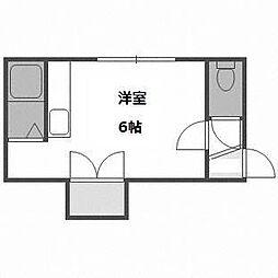 北海道札幌市白石区菊水八条3丁目の賃貸アパートの間取り