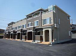 大阪府富田林市昭和町2丁目の賃貸アパートの外観