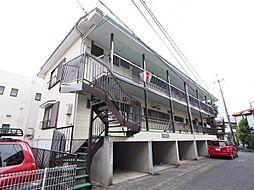 神奈川県川崎市多摩区中野島の賃貸アパートの外観