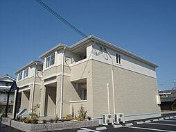 奈良県北葛城郡河合町池部1丁目の賃貸アパートの外観