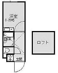 シティハイム大野[1階]の間取り