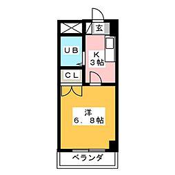 PROSPER[2階]の間取り