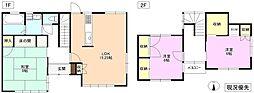 [一戸建] 長野県長野市平林2丁目 の賃貸【/】の間取り