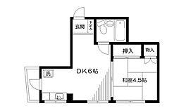 中丸ビル[2階]の間取り