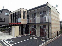 千葉県流山市流山6丁目の賃貸アパートの外観